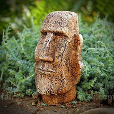 Fairy Homes and Gardens - Miniature Easter Island Moai Statue, $7.89 (http://www.fairyhomesandgardens.com/miniature-easter-island-moai-statue/)