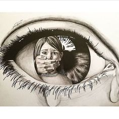 It is the best drawing ı have ever sene It is the best drawing ı have ever sene # art Drawings It is the best drawing ı have ever sene - New Ideas Sad Drawings, Girl Drawing Sketches, Dark Art Drawings, Pencil Art Drawings, Drawing Ideas, Drawings With Meaning, Art With Meaning, Emotional Drawings, Meaningful Drawings