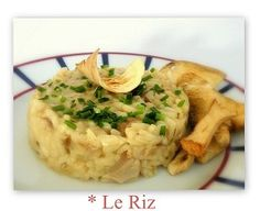 Le riz en vignette