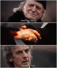 Good Luck & Goodbye Doctor Peter Capaldi and David Bradley