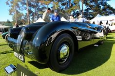 """Jaguar - In Photos: Photos: The """"Jabbeke"""" Jaguar XK 120 - Forbes Vintage Cars, Antique Cars, Jaguar Xk120, Amazing Cars, Jaguar Cars, Quail, Ss, Motorcycles, Photos"""