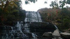 Albion Falls Waterfall in Hamilton, Ontario