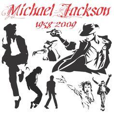 Michael Jackson Silhouettes [EPS File]