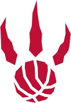 Toronto Raptors Alternate Logo - A red raptor paw print with basketball seams Baylor Basketball, Basketball Tattoos, Basketball Party, Basketball Leagues, Basketball Scoreboard, Basketball Shooting, Basketball Shoes, Toronto Raptors, Nba News