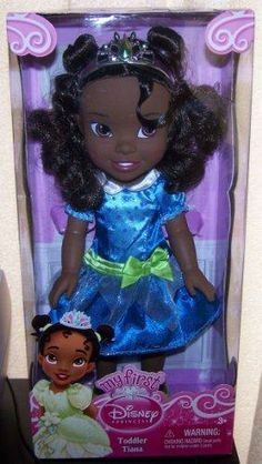 My First Disney Princess Toddler Tiana 14H Doll in Blue Dress For ages 3 years old and up..  #Tolly_Tots #Toy