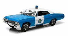Awesome Diecast - Greenlight 1:18 1967 Chevrolet Biscayne Police Car: Chicago P.D., $64.95 (http://www.awesomediecast.com/greenlight-1-18-1967-chevrolet-biscayne-police-car-chicago-p-d/)