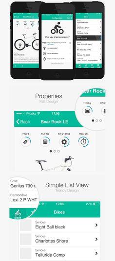 BikeApp – Design Concept