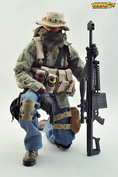 onesixthscalepictures: Very Hot PMC Sniper : Latest product news for 1/6 scale figures (12 inch collectibles) from Sideshows Collectibles, Hot Toys, Medicom, TTL, Triad Toys, Enterbay and others.
