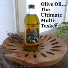 . SOLUTIONS:  DIY Everyday Uses for Olive Oil
