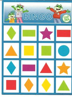 (2015-04) Bingo med former og farver #3