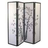 "Found it at Wayfair - 70"" x 68"" Bamboo Shoji 4 Panel Room Divider"