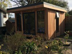 Our beautiful Garden Room built by Bridge Timber Garden Rooms.