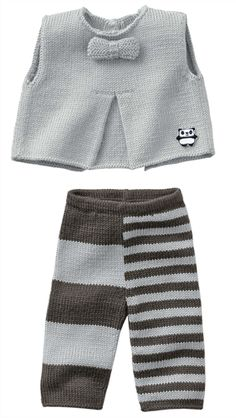 Bergere de France Tank Top, Pants & Bootees PatternSweet Cheeks / DROPS Baby - Knitted DROPS jacket, pants, hat and socks with Nordic pattern in. Knitting For Kids, Baby Knitting Patterns, Baby Patterns, Hand Knitting, Crochet Baby Pants, Knit Crochet, Baby Outfits, Kids Outfits, Baby Overall