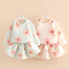 Buy 'Seashells Kids – Kids Set: Floral Print Long-Sleeve Top + A-Line Skirt' with Free International Shipping at YesStyle.com. Browse and shop for thousands of Asian fashion items from China and more!