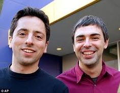 Sergey Brin and Larry Page Smiling People, Larry Page, Successful People, Successful Business, Good People, Digital Marketing, Insight, Infographic, Personality