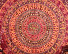 Camel Mandala Tapestry, Elephant Mandala from jaipurihandicraft