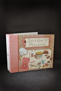 A recipe scrapbook created on ThePaperWorker.com #scrapbooking #recipes #cooking