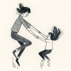 Jumping on the Trampoline by Brooke Smart