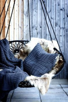 Ideas - Apartment Wishlist -Best apartment balcony hammock decks Ideas - Apartment Wishlist - I will forever want a swinging indoor chair! please someone buy this for me Hammock chair for home interior design and relax Apartment Balcony Garden, Apartment Balconies, Cool Apartments, Backyard Hammock, Hammock Chair, Swinging Chair, Hammock Ideas, Chair Cushions, Indoor Hammock