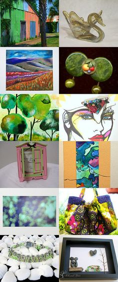Colors of the Day! by Dr. Erika Muller on Etsy--Pinned with TreasuryPin.com