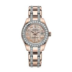 One day I will have one...New Rolex Lady-Datejust Pearlmaster: Baselworld 2013