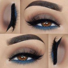52 Best Gorgeous And Trendy Brown Eyes Makeup Design For Prom Or Party 💋 - Makeup Idea 25 💕 ฿Ɽ₩Ø₦ ɆɎɆ . - 52 Best Gorgeous And Trendy Brown Eyes Makeup Design For Prom Or Party 💋 – Makeup Idea 25 💕 ฿Ɽ₩Ø₦ ɆɎɆ ₥₳₭Ɇ₱ Ʉ₱ 💋 💕 💕 💕 💕 - Makeup Inspo, Makeup Inspiration, Beauty Makeup, Makeup Ideas, Makeup Geek, Makeup Tricks, Eye Makeup Tutorials, Full Makeup, Makeup Goals