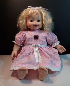 Playmates 1998 Amazing Amy Interactive Baby Doll   eBay
