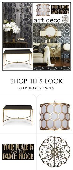 """""""Art Deco"""" by loveartrecyclekardstock on Polyvore"""