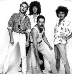 Roger Taylor, Brian May, Freddie Mercury and John Deacon John Deacon, I Am A Queen, Save The Queen, Great Bands, Cool Bands, Bryan May, U2 Band, Live Aid, Roger Taylor