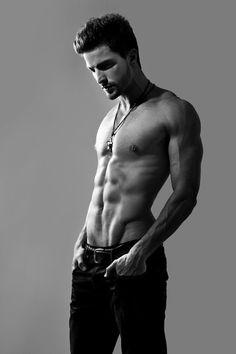 Lovely lean muscle. #Sexy #Male #Model