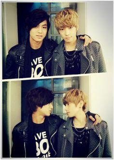 Mingyu and Wonwoo from Seventeen