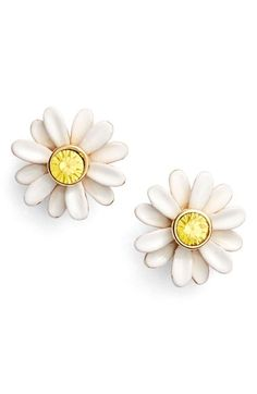 kate spade new york 'dazzling daisies' stud earrings available at #Nordstrom