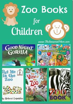 10 Awesome Zoo Book. books about zoos are perfect for young ...