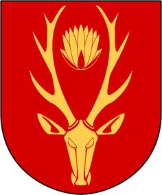 Åsele Lappland, Coat Of Arms, Sweden, Rooster, Animals, Coats, Wraps, Animaux, Family Crest