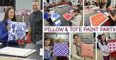 Calling all crafters! Cutting Edge Stencils and Paint A Pillow are hosting a pillow and tote paint party on January 28th at 6:30pm. See the event details: https://www.facebook.com/events/1742586499309749/