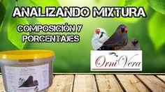 ANALIZANDO MIXTURA ORNIVERA || PORCENTAJES DE SEMILLA