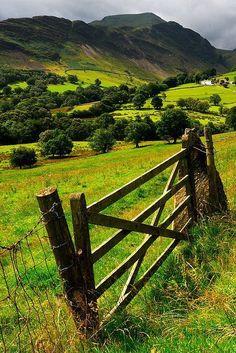 Newlands Valley, Cumbria, England photo via christine