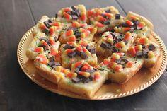 Fall Inspired Ooey Gooey Cake Mix Cheesecake Bars 1