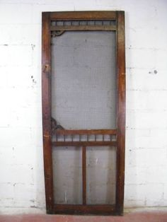 Charmant Simple Screen Door   Probably What Our House Had Originally