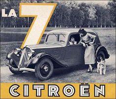 Citroën Traction Avant 7 1934