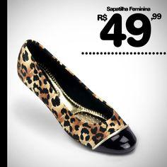 MEGA PROMOÇÃO! Linda Sapatilha Feminina por apenas R$ 49,99!! Compre Online