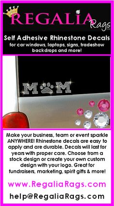 Loving The Colors In These Custom Rhinestone Car Decals I Think - Custom car bling decals