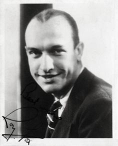 Roy Fox, American band leader who made his name in England.