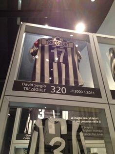 Juventus Museum-Maglia di David Trezeguet Juventus Stadium, Juventus Fc, Football Shirts, David, Italy, Soccer Shirts, Soccer Jerseys, Italia