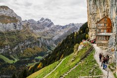 Berggasthaus Aescher-Wildkirchli Seealpsee | von doblerphoto.ch Berg, Mount Everest, My Photos, Mountains, Nature, Travel, Naturaleza, Viajes, Trips
