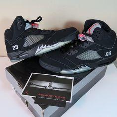 cheap for discount 2ac9c 798d3 2007 Air Jordan 5 Metallic Sz 11.5 Brand New OG Box
