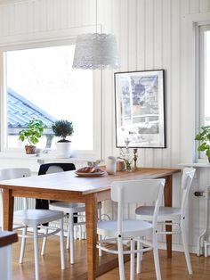 A refuge city in Sweden #diningroom