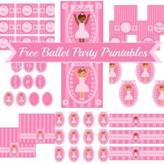 {FREE} BALLET PARTY PRINTABLES + Extras!