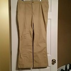 NWOT khaki Chino boot cut pants Khaki pants Old Navy Pants