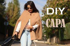 Blog costura y diy: Oh, Mother Mine DIY!!: DIY Costura: Cómo hacer Abrigo Capa (Patrón gratis...